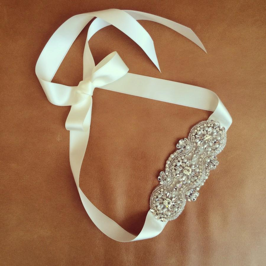 Свадьба - Wedding Hairband - Rhinestone Headband - Pearl Headband