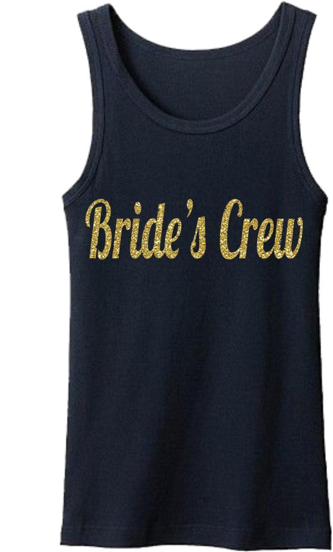 Mariage - Bridesmaid Shirts. Bridesmaid Robes, Bridesmaid Gifts, Bridal Robe, Set or Sets, Order 3 4 5 6 7 8 9 or 10,bridesmaid t-shirt gold