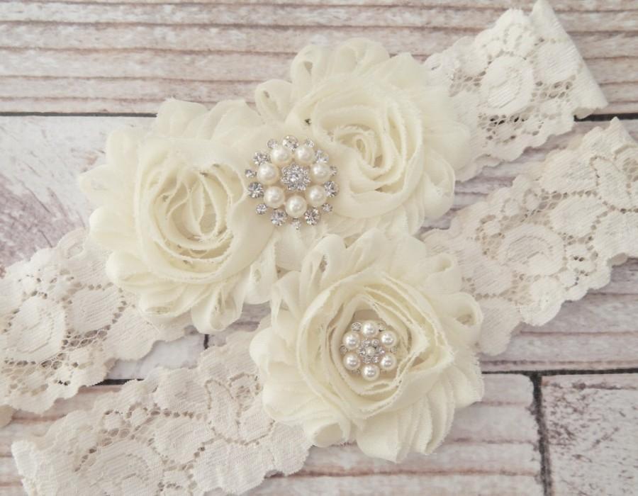 Mariage - Your Color ,Ivory Wedding Garter Set , Wedding Garter , Bridal Garter, Garters for Wedding , Garter ,Lace Garter
