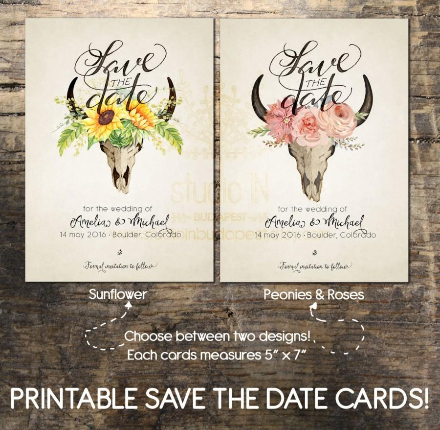 Save The Date Card Printable Save The Date Card Wedding Card – Diy Wedding Save the Date Ideas