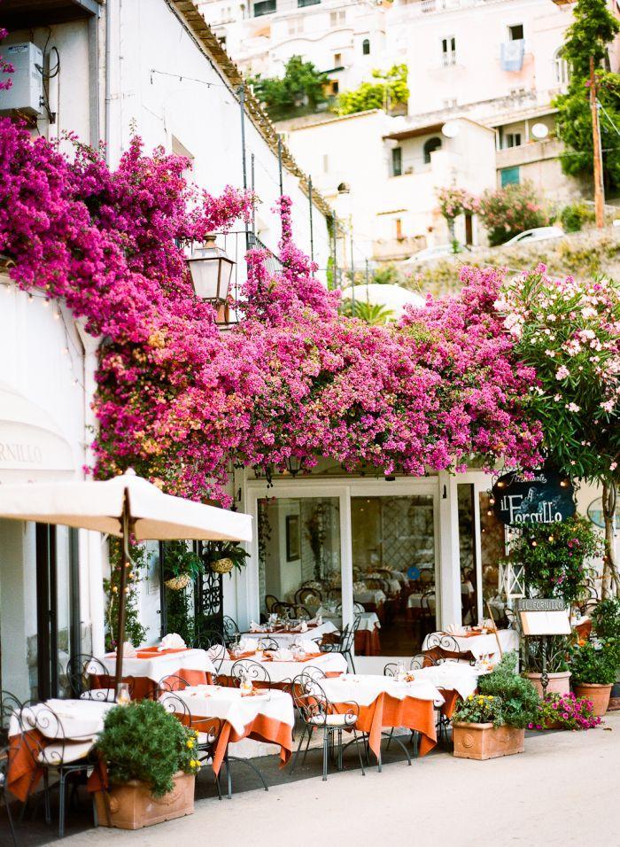 Wedding - Outdoor Dining In Positano Italy