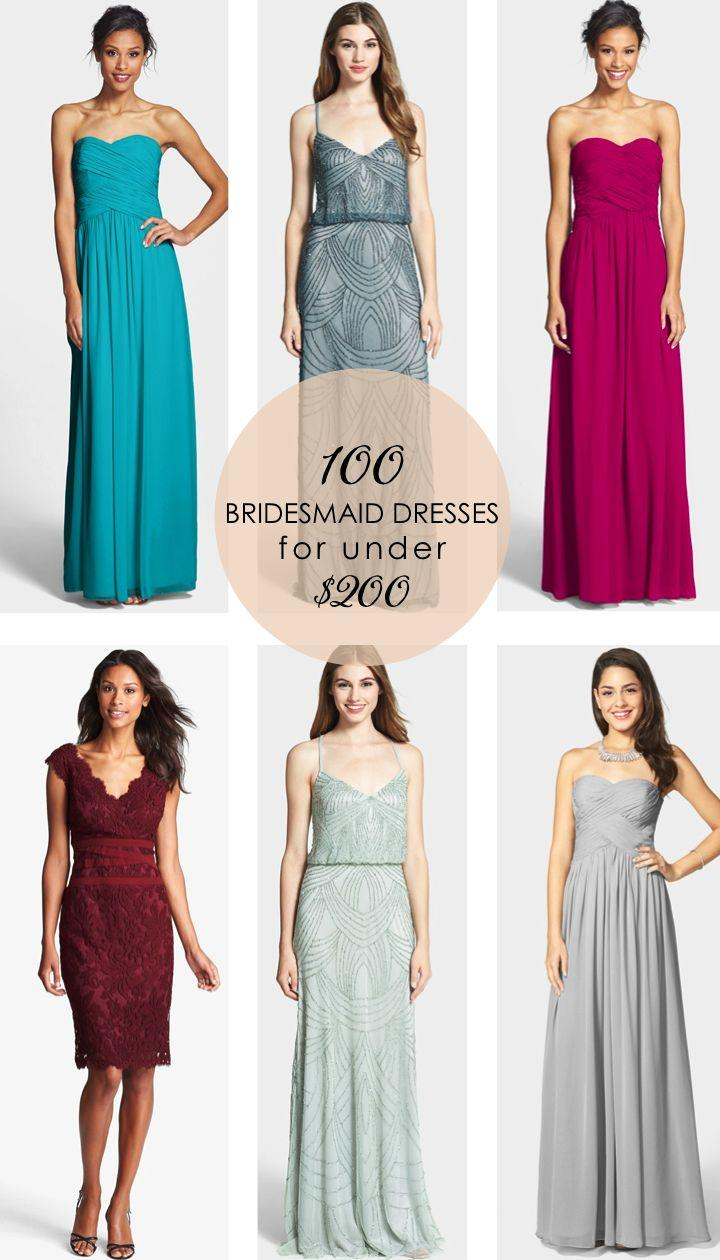 Bridesmaid 100 bridesmaid dresses for under 200 for Wedding dresses for under 200