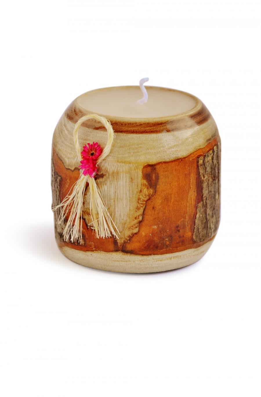 Mariage - Rustic Wedding Candles