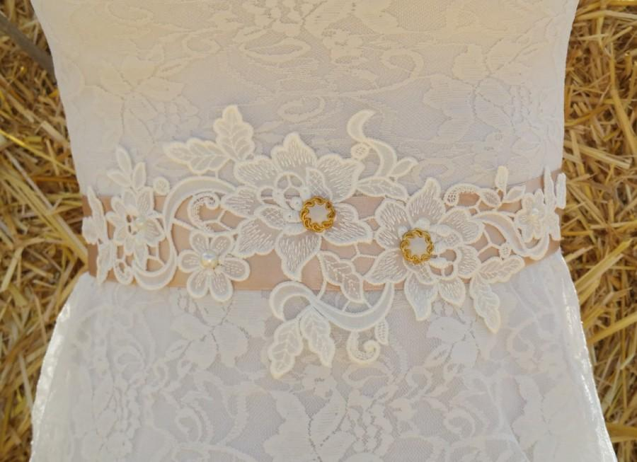 زفاف - YALI Style- Lace Wedding belt, Bridal lace belt, Wedding lace sash, Lace bridal belt, Ivory lace belt, Ivort sash