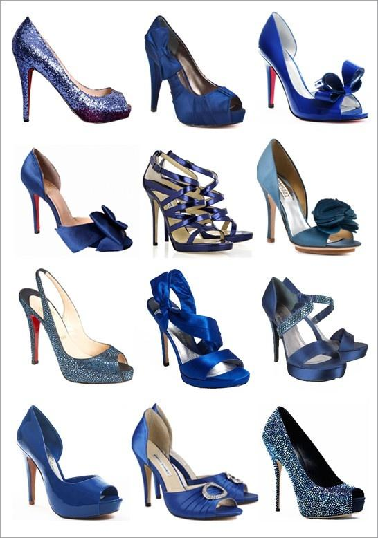 Mariage - 45  Chic Blue Wedding Shoes For Bridal