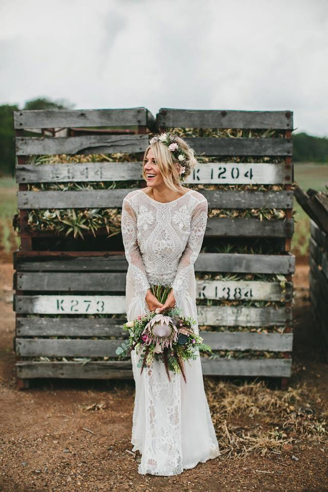 Свадьба - 40 Trend Protea Wedding Ideas For 2016