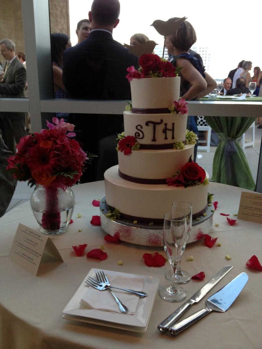Wedding Cake Stand 16 Inch Floral Leaf