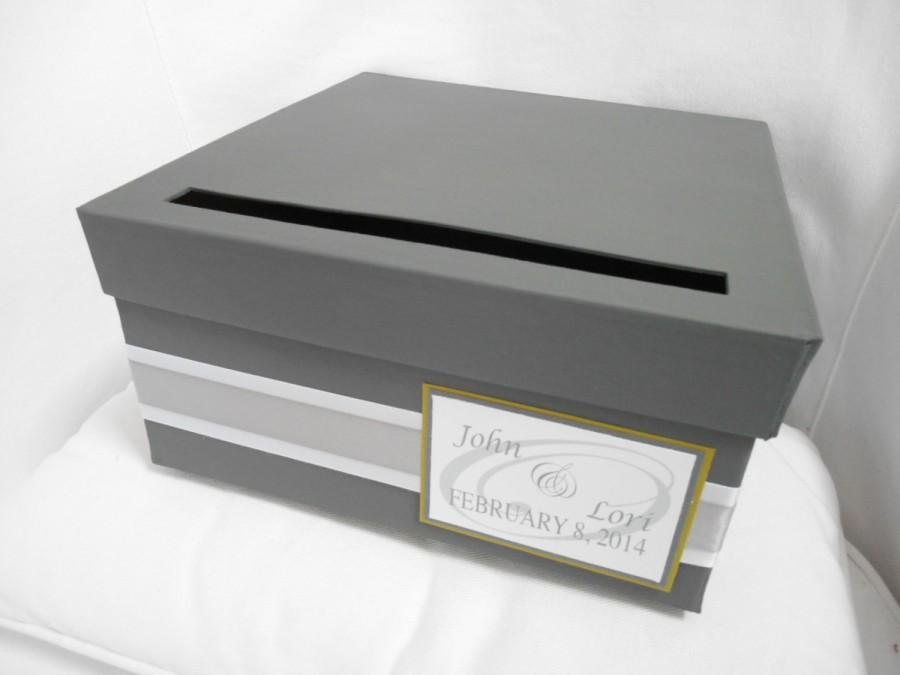 Wedding Card Box Custom Wedding Reception Gift Card Holder – How to Decorate a Wedding Card Box