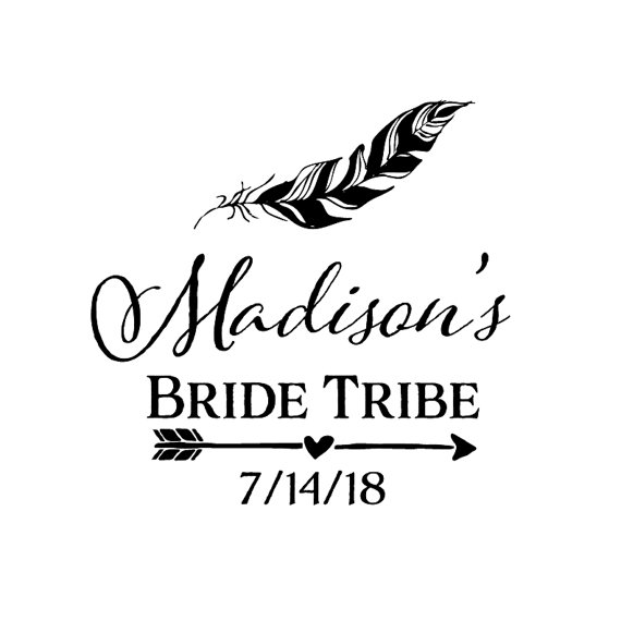 Mariage - Bride Tribe Tattoo - Wedding Party Tattoo