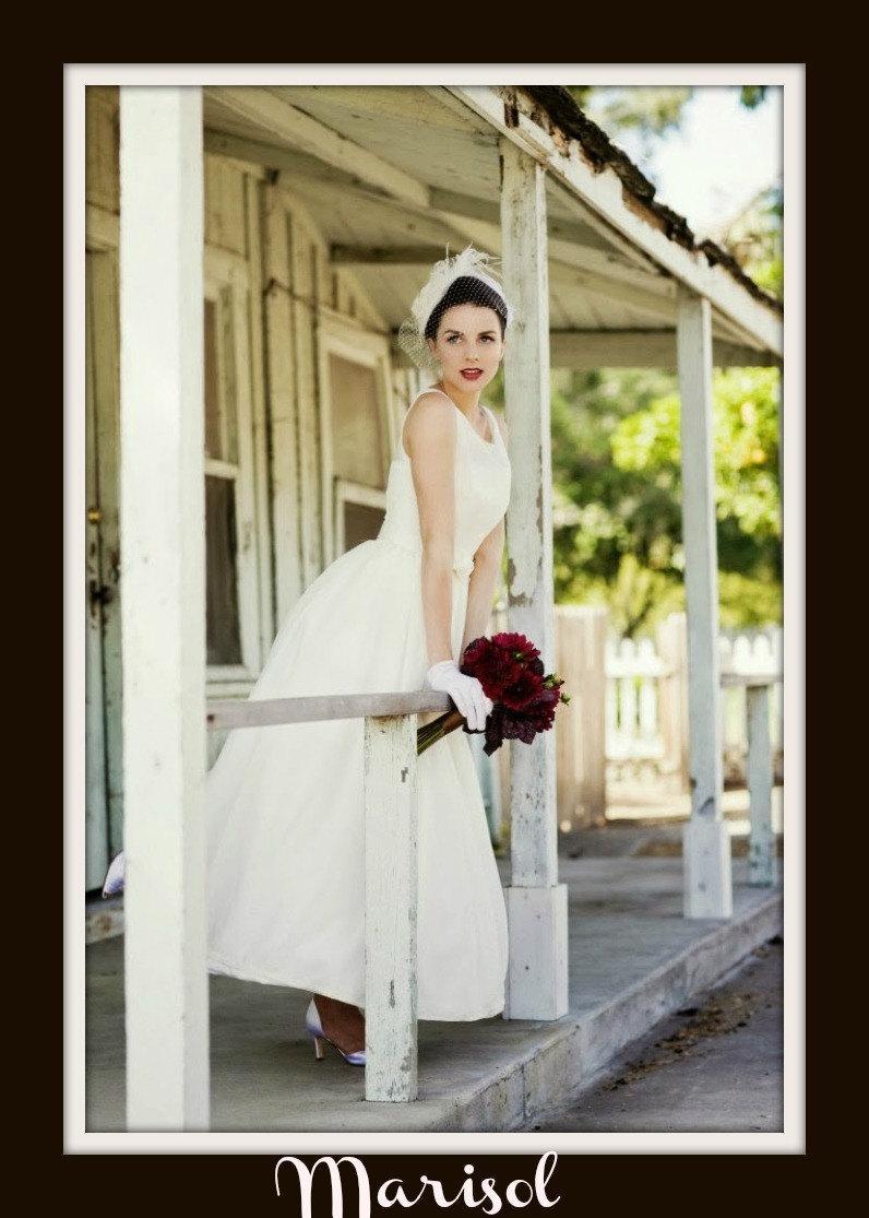زفاف - 1950s Wedding Dress 'MARISOL'