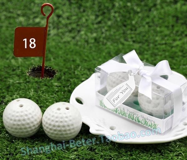 زفاف - Beautiful wedding small things golf spice jar tc030 Club party guest gift golf ball