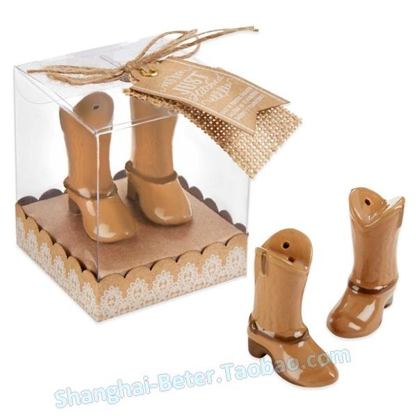Wedding - Wedding festive supplies tc027 wedding small gift Cowboy shoes child cruet pepper shakers explosion models in return