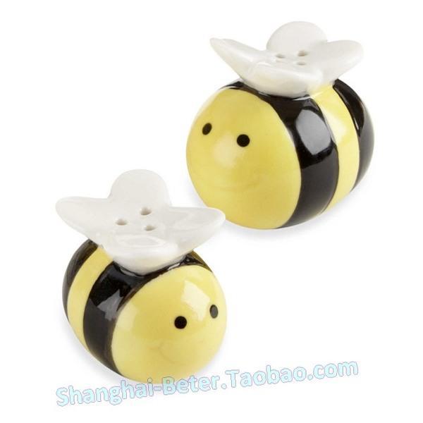 Wedding - Explosion models school supplies European wedding supplies cruet cute bee bee pepper pot honey tc019