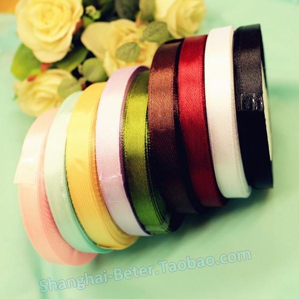 Mariage - 特制1cm宽丝带HH040包装缎带DIY礼品包装 情人节派对小礼物彩带
