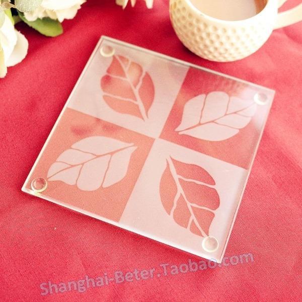 Wedding - 欧式婚庆用品 加拿大枫叶杯垫BD006倍乐婚品碗垫 茶垫 创意回礼