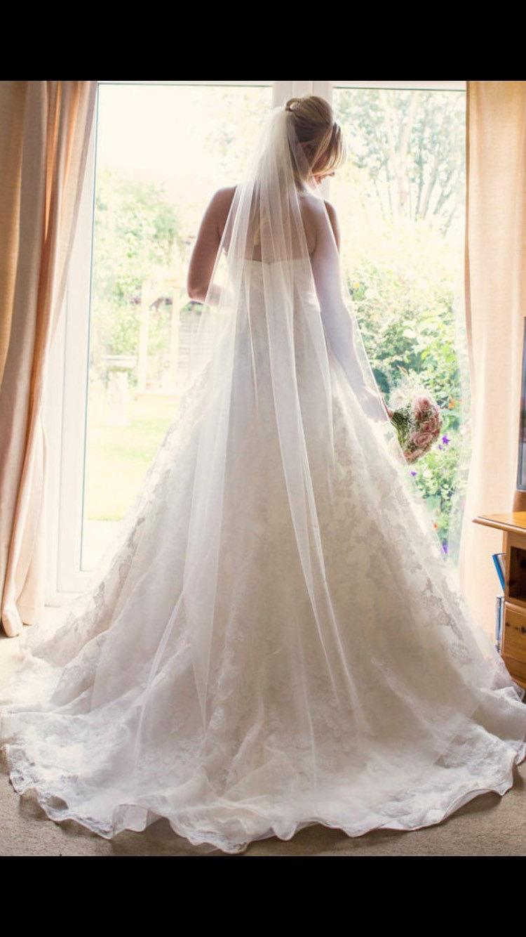 """Wedding - Veils - Ivory Chapel Wedding Veil 90"""""""