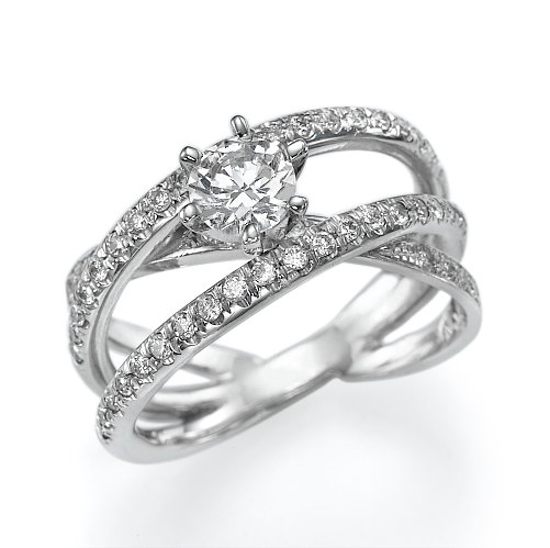 Свадьба - Diamond Engagement Ring, Antique Engagement Ring, Unique engagement ring, Engagement band, white gold engagement ring, Art deco ring, rings