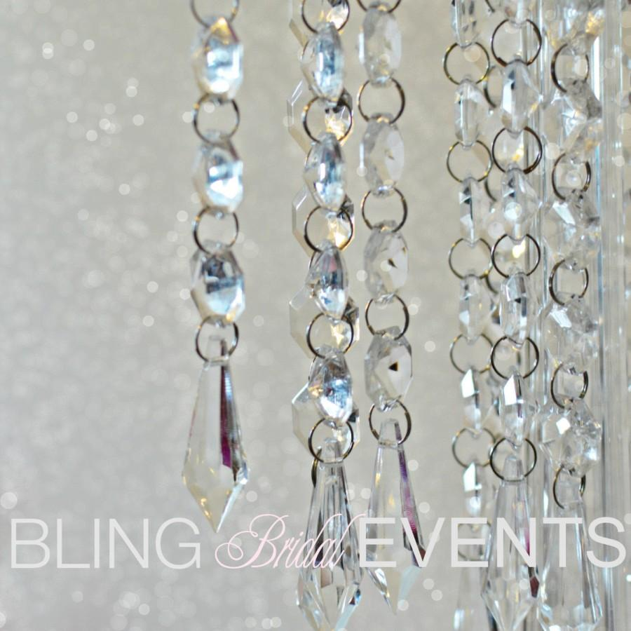 Wedding - Hanging Crystals