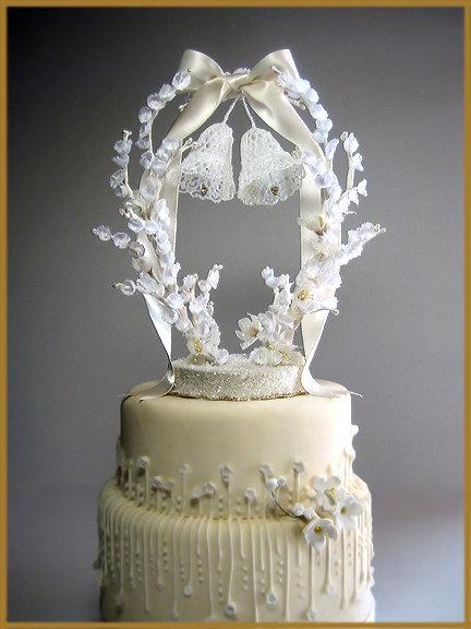 Dekor Vintage Wedding Bells Cake Topper 2503295 Weddbook