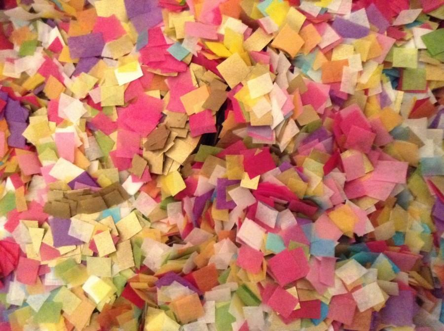 Свадьба - Summer Wedding Confetti / Biodegradable / Tissue Paper / Ecofriendly / Environmentally Friendly / Bridal Shower