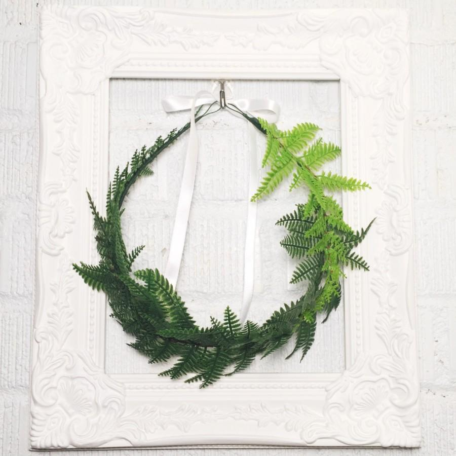 how to make ferns green