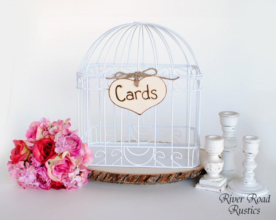 "زفاف - Rustic Wedding ""Cards"" Sign  for Your Rustic, Country, Shabby Chic Wedding- or for birthdays, anniversaries, or graduation. Ready to Ship."