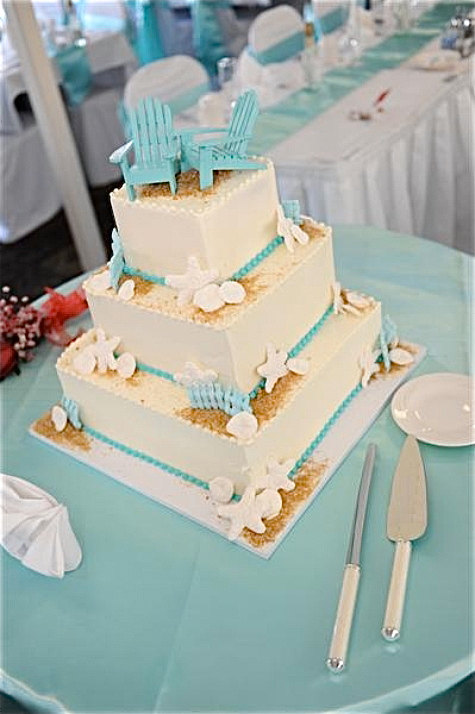 Hochzeit - Beach Wedding Cake Topper - 2 Mini Adirondack Chairs in 6 colors - Adirondack Cake Topper - destination wedding, beach wedding decor