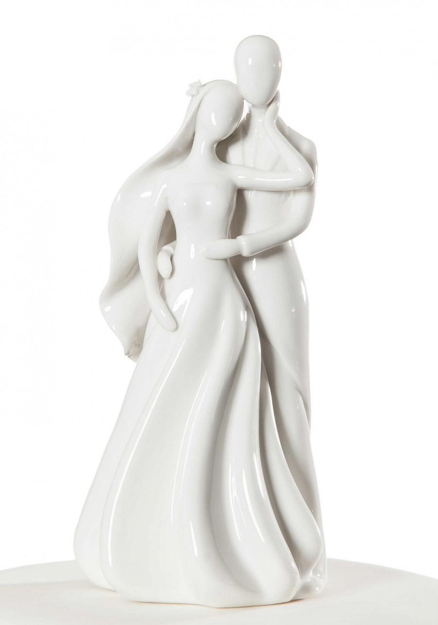 Mariage - Silhouette of Love Cake Topper Figurine - 707558