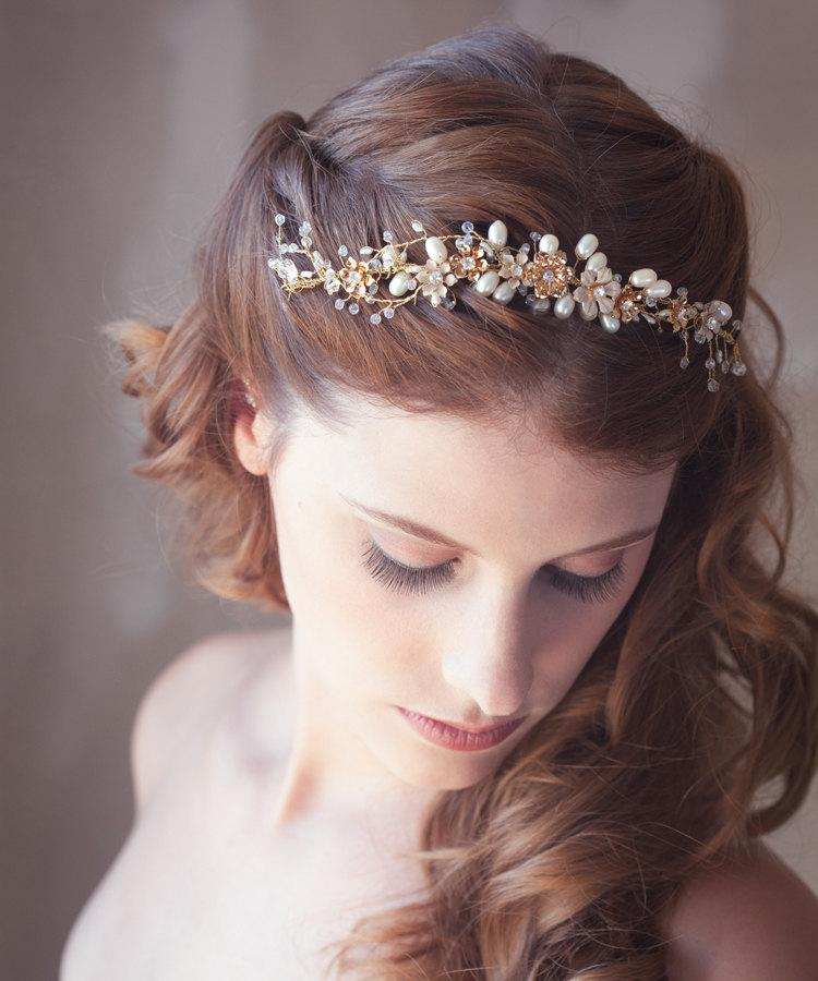 [Event RP] Bal de promo 1992 Golden-flower-hair-vine-gold-bridal-hair-vine-bridal-hair-accessories-gold-bridal-wreath-bridal-halo-wedding-hair-piece-ready-to-ship