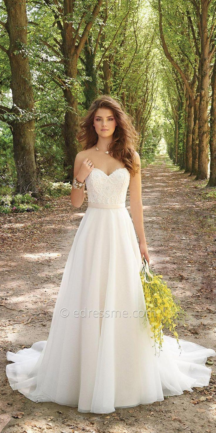 Corset organza wedding dress by camille la vie 2504787 for Corset bra for wedding dress