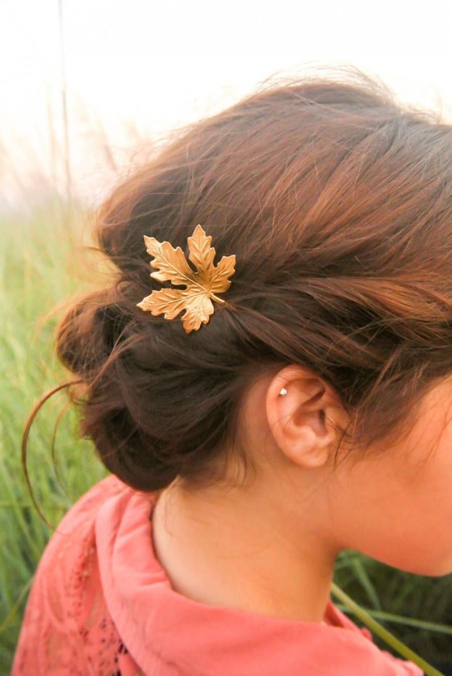 Leaf Hair Accessory Maple Leaf Hair Accessories Leaf Hair ...