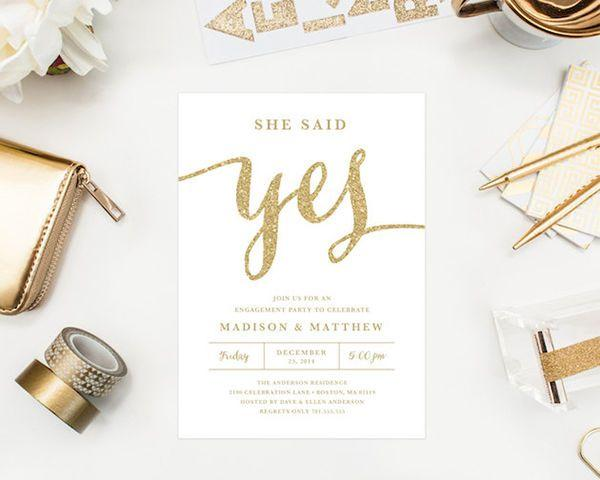 Mariage - 12 Engagement Party Details We Can't Get Enough Of