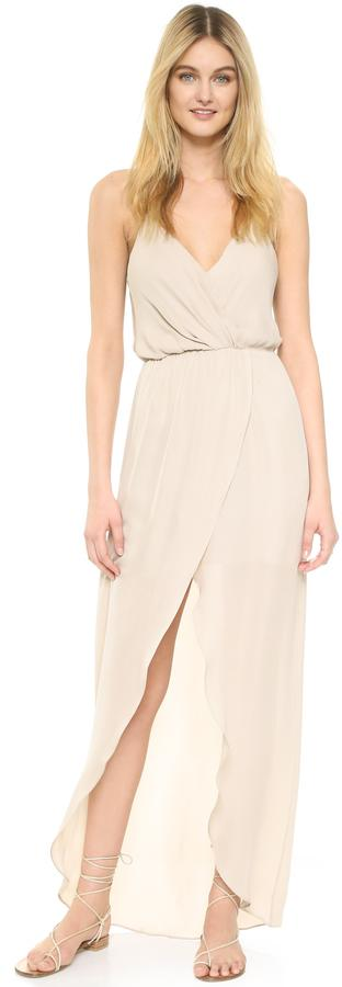 Wedding - Rory Beca Jones Fishtail Wrap Gown