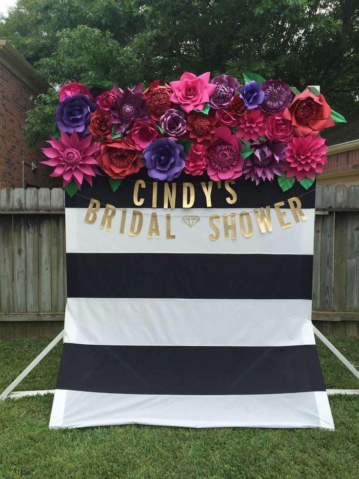 spanish florals bridalwedding shower party ideas