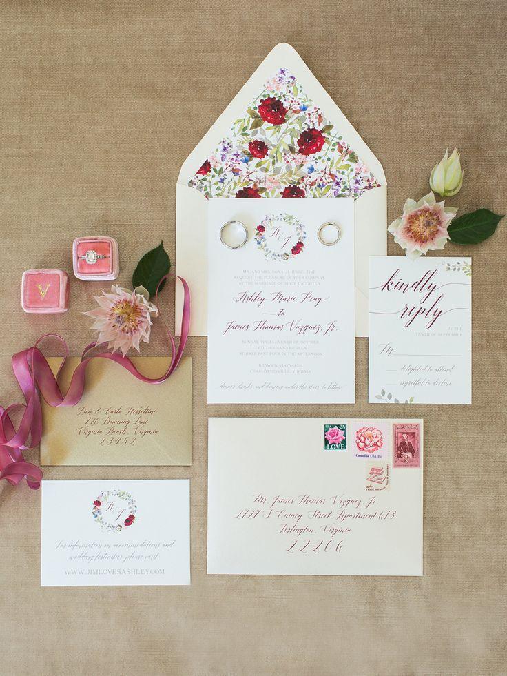 زفاف - Elegant Autumn Virginia Vineyard Wedding