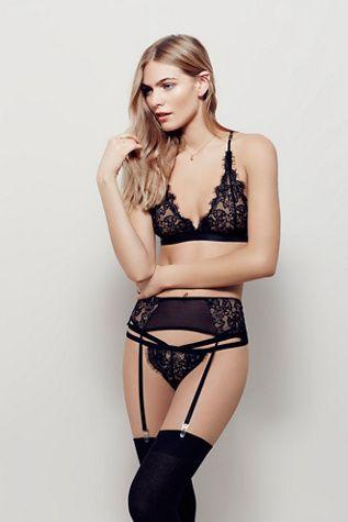Свадьба - Free People Vivi Garter Belt