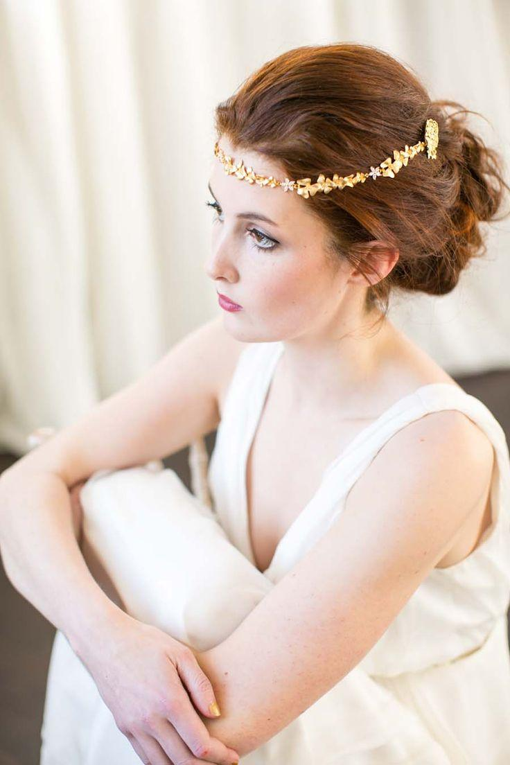 Mariage - Ethereal Bridal Adornments: Victoria Millésime Launches Her 2016 Gold Dust Collection!