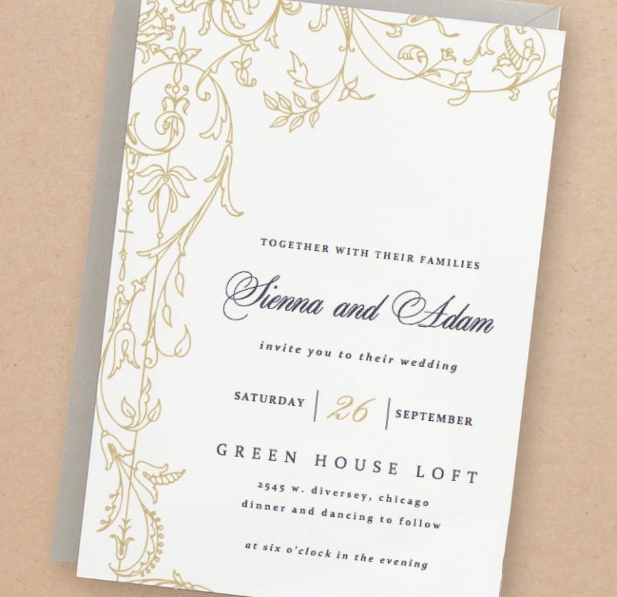 invitation printable wedding invitation template 2505959 weddbook