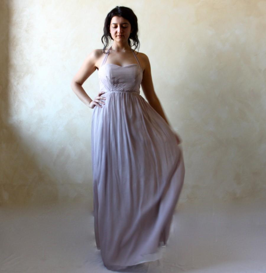 wedding dress lavender wedding dress boho wedding dress fairy wedding