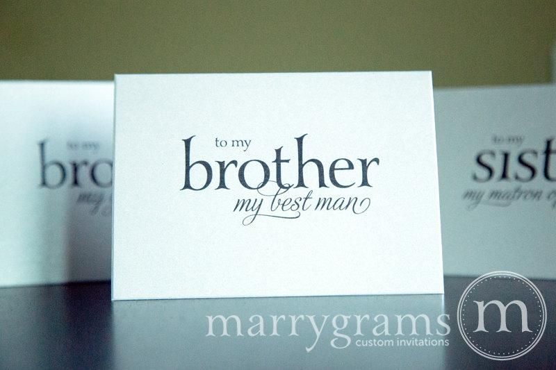 Wedding Card To Your Brother