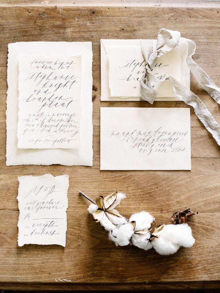 Mariage - Flowing Calligraphy Wedding Stationery