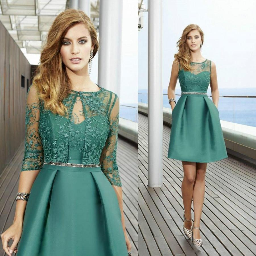 2016 new arrival short mother of bridal dresses with for Dress and jacket outfits for weddings