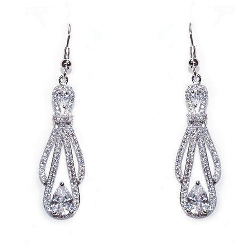 Mariage - Decadence Wedding Earrings (ic)