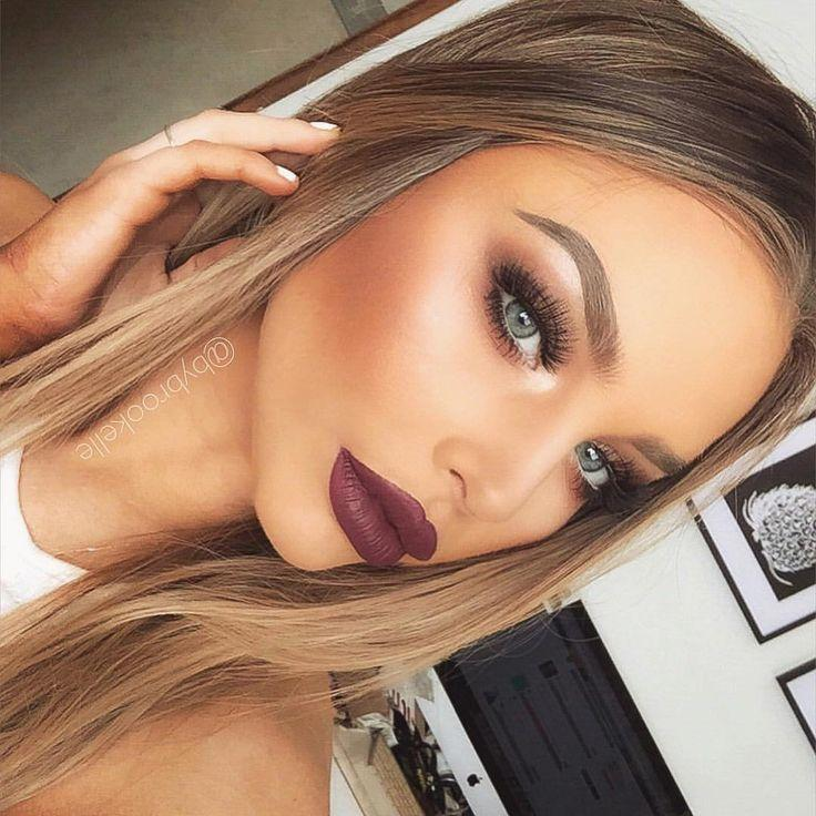 Brookelle Mckenzie On Instagram Bold Lips And Brows Anastasia