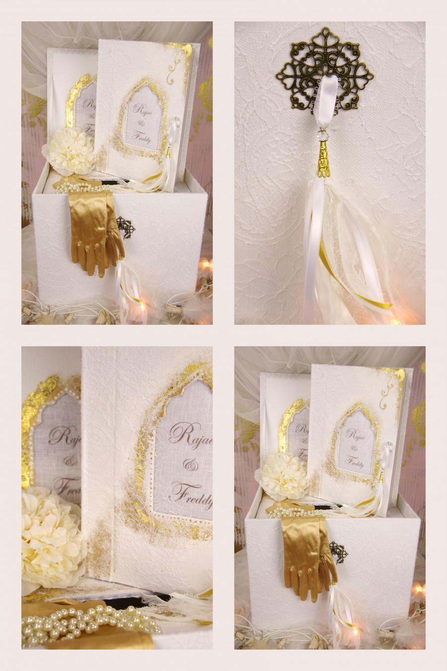 "Wedding - Urne ""Mille et une nuits"""