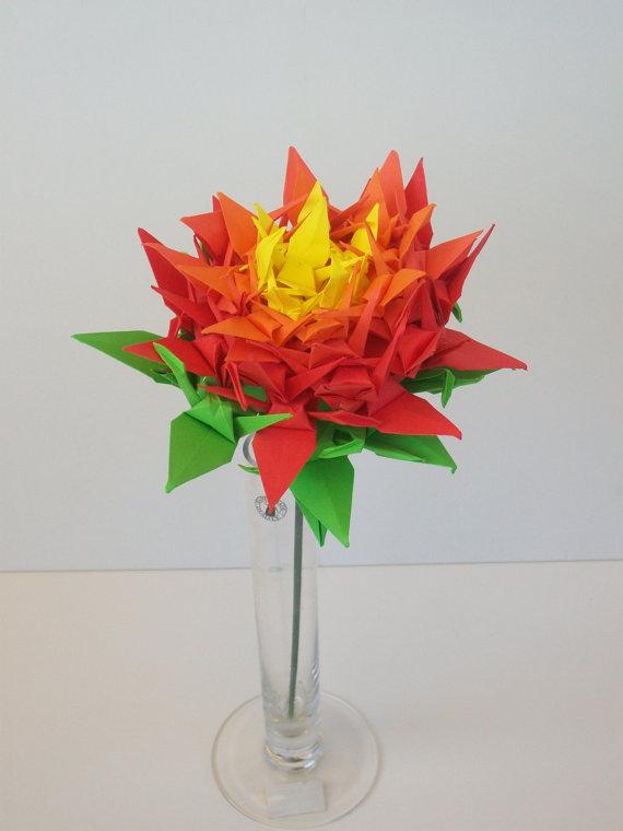 Origami Crane Origami Flower Origami Crane Flower Flower For
