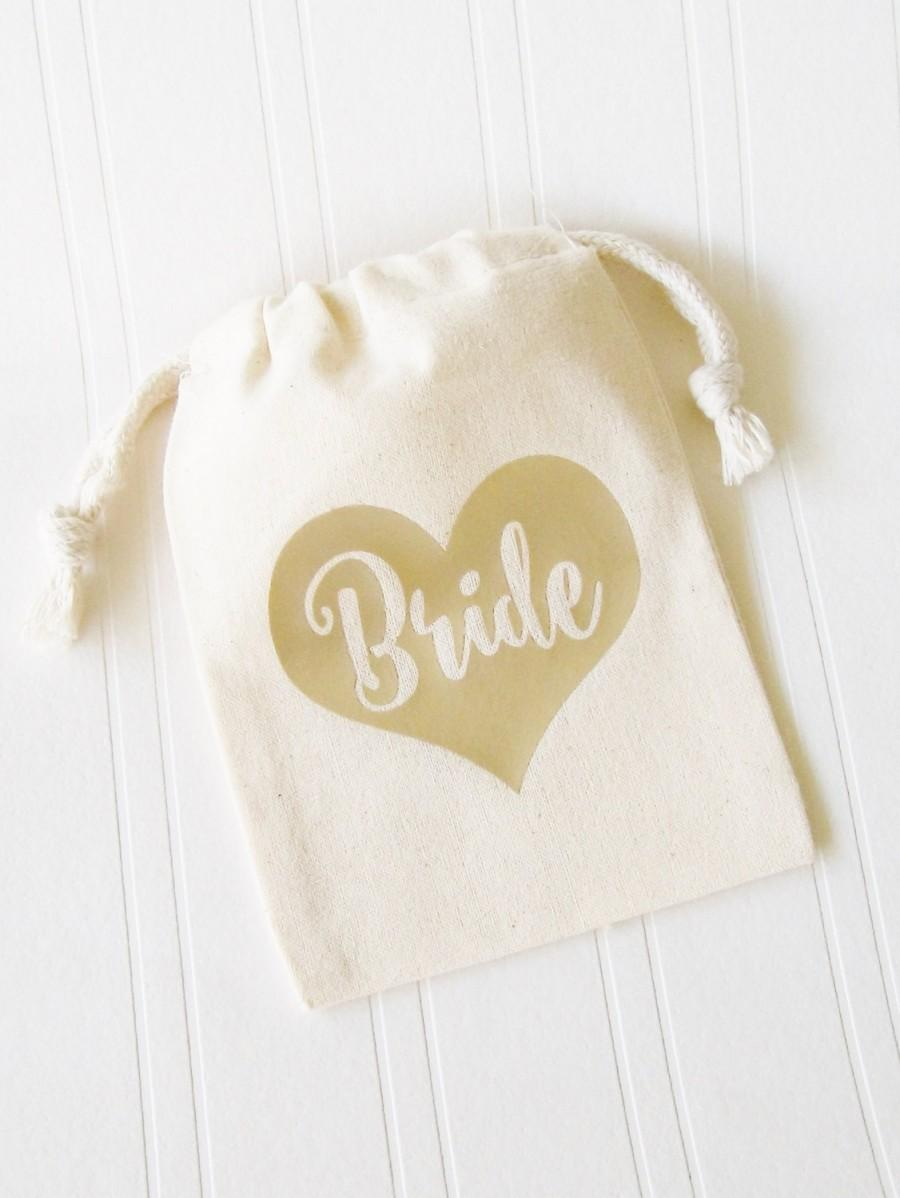 Bride Tote Bag, Party Favor Gift Bag Bridal Shower Bachelorette ...