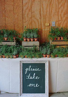 Свадьба - Herbs