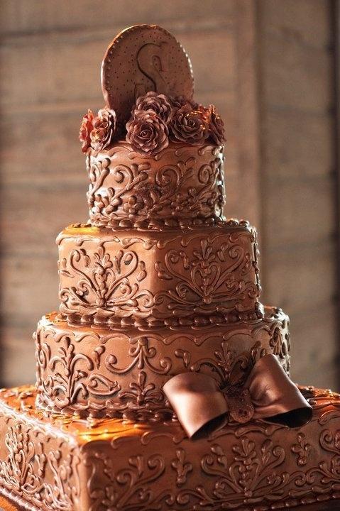 Самый большой шоколадный торт