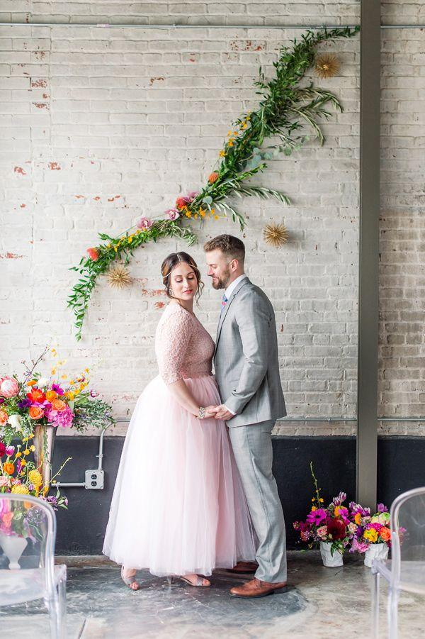 Wedding - Bright And Modern Vow Renewal